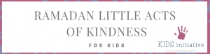 Ramadan kindness calendar
